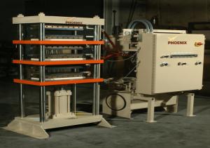 25 Ton Four Column Up-Acting Hydraulic Press