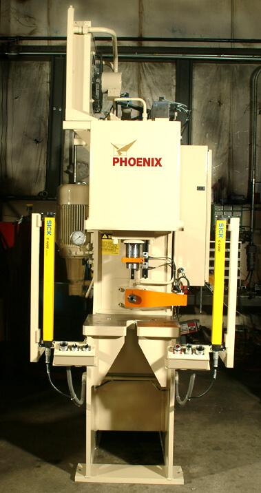25 Ton C Frame Press Phoenix Hydraulic Presses Inc