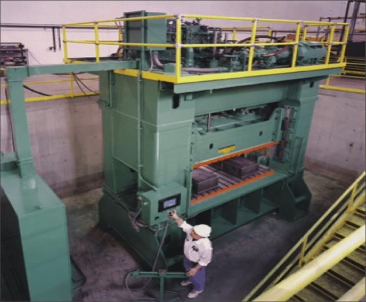 GIB Guided 750 Ton Blanking Hydraulic Press