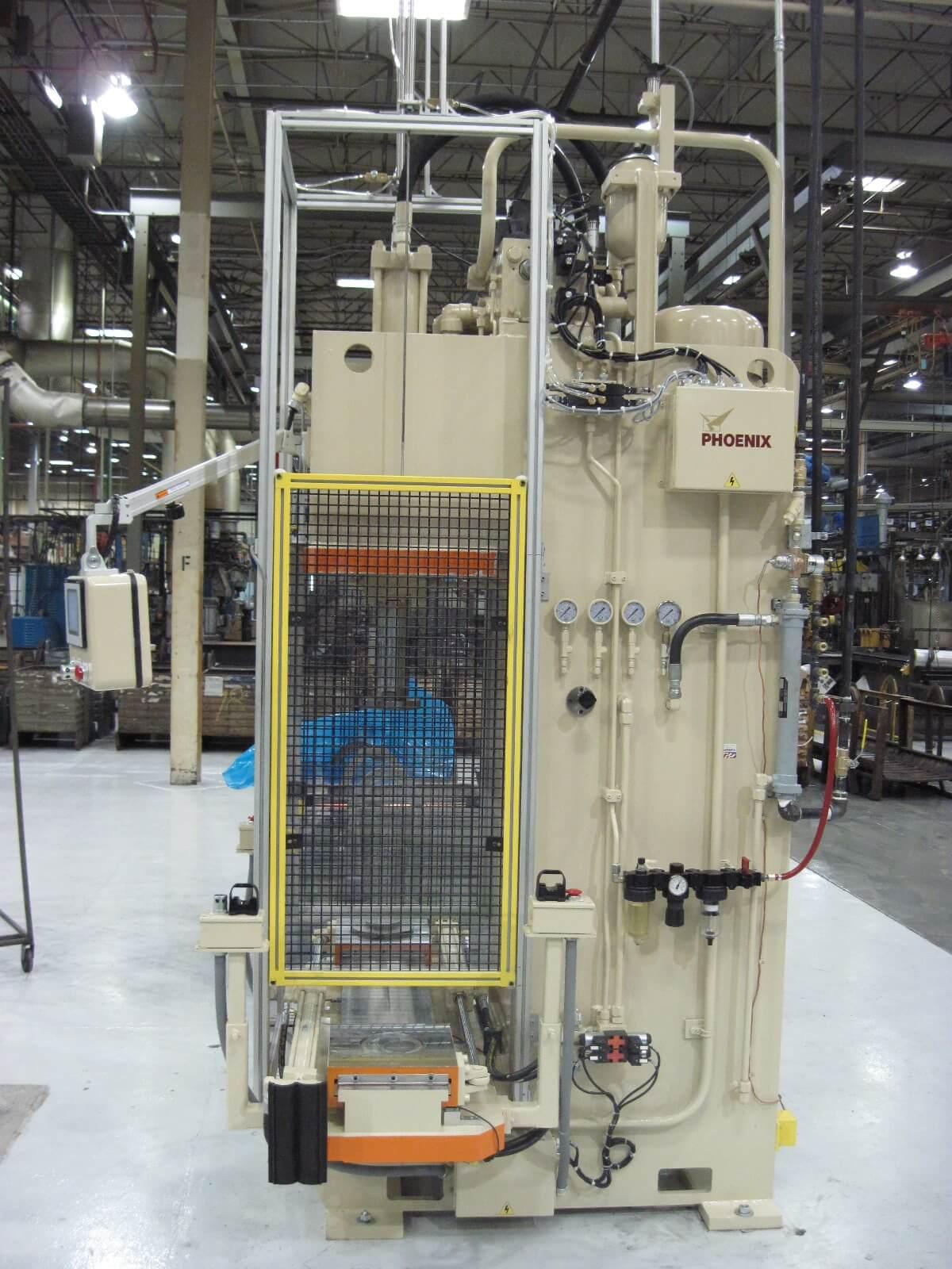 30 Ton Pressing C-Frame w/Shuttle Table