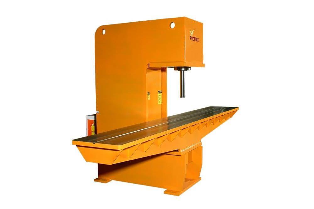 Custom Hydraulic Straightening Press with precision control