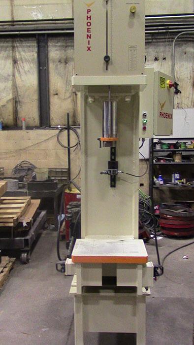 40 Ton Bench Press